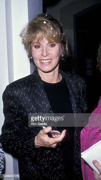 Stefanie Powers during Kay Stevens Opening May 3 1989 at Roosevelt Theater in Hollywood California United States