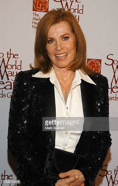 Stefanie Powers during So The World May Hear Awards Gala at Century Plaza Hotel in Century City California United States