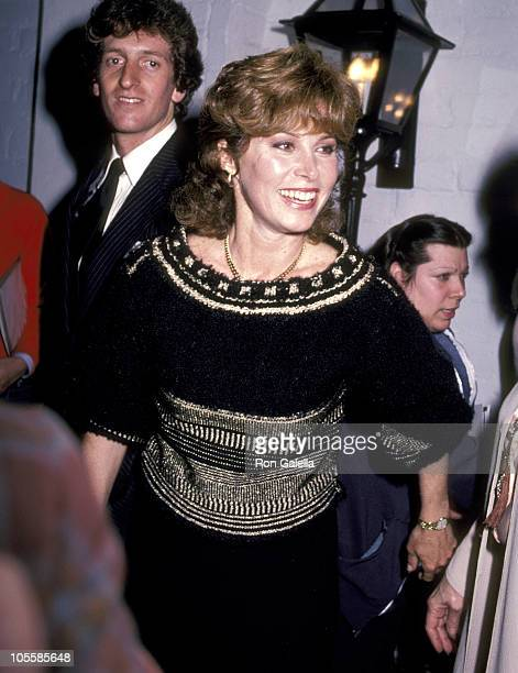 Stefanie Powers during Stefanie Powers Sighting at Chasen's Restaurant in Beverly Hills March 1 1983 at Chasen's Restaurant in Beverly Hills...