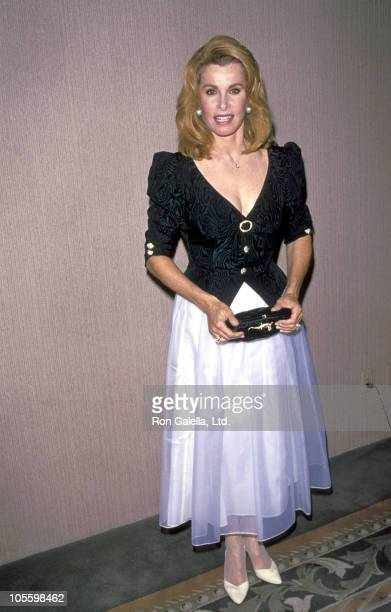 Stefanie Powers during Thalians Honors Liza Minnelli at Century Plaza Hotel in Century City California United States