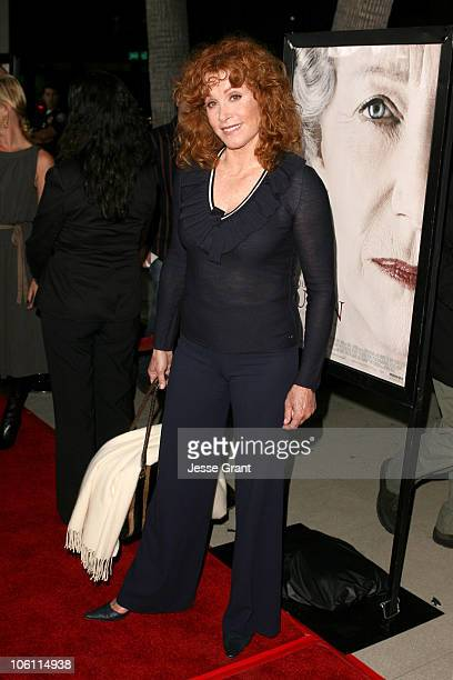 Stefanie Powers during 'The Queen' Los Angeles Premiere Arrivals at Academy of Motion Picture Arts and Sciences in Beverly Hills California United...