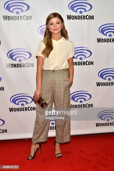 Stefanie Scott attends 'Insidious Chapter 3' Cast and Filmmakers press line at Anaheim Convention Center on April 4 2015 in Anaheim California