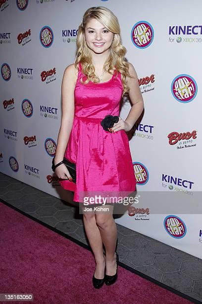 Stefanie Scott attends Popstar Magazine Celebrates Their Breakthrough Artists Of 2012 on December 6 2011 in Universal City California