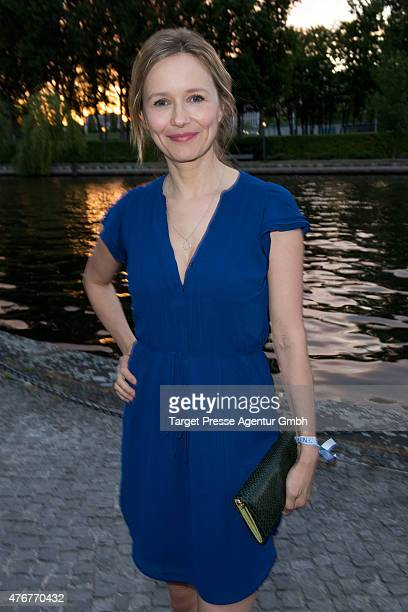 Stefanie Stappenbeck the producer party 2015 of the Alliance German Producer Cinema And Television on June 11 2015 in Berlin Germany