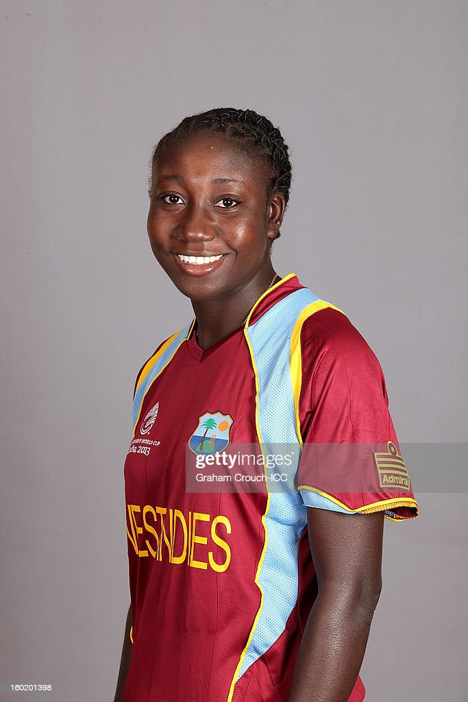 Stefanie Taylor of West Indies at a portrait session ahead of the ICC Womens World Cup 2013 at the Taj Mahal Palace Hotel on January 27, 2013 in Mumbai, India.