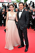 Stefano Accorsi and Laetitia Casta at the premiere of 'The Conquest' during the 64th Cannes International Film Festival