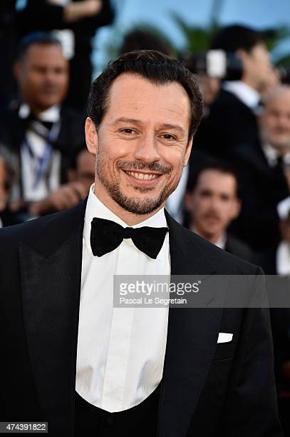 Stefano Accorsi attends the 'Little Prince' Premiere during the 68th annual Cannes Film Festival on May 22 2015 in Cannes France