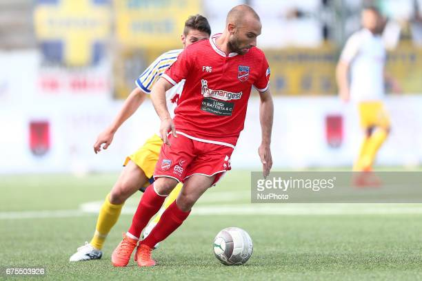 Stefano Amadio of Teramo Calcio during Lega Pro round B match between Teramo Calcio 1913 and Parma Calcio at Stadium Gaetano Bonolis on 30 April 2017...