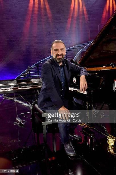 Stefano Bollan attends 'L'importante E' Avere Un Piano' Tv Show on November 8 2016 in Rome Italy