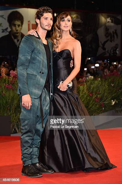 Stefano De Martino and Belen Rodriguez attend 'Pasolini' Premiere during the 71st Venice Film Festival on September 4 2014 in Venice Italy