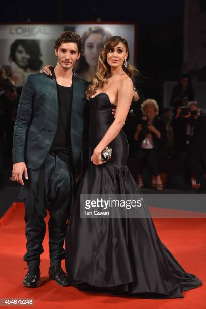 Stefano De Martino and Belen Rodriguez attends 'Pasolini' Premiere during the 71st Venice Film Festival on September 4 2014 in Venice Italy