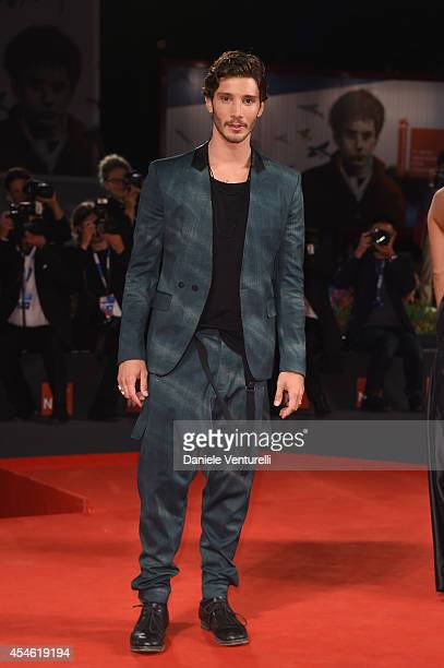 Stefano De Martino attends 'Pasolini' Premiere during the 71st Venice Film Festival at Sala Grande on September 4 2014 in Venice Italy