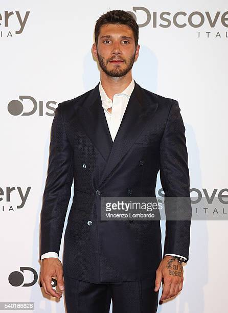 Stefano De Martino attends the Discovery Networks Upfront on June 14 2016 in Milan Italy