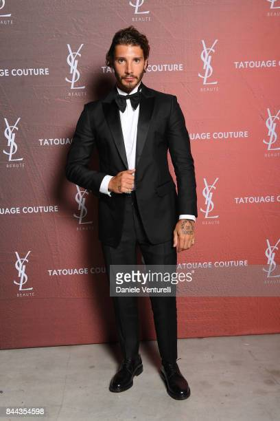 Stefano De Martino attends the YSL Beauty Club Party during the 74th Venice Film Festival at Arsenale on September 8 2017 in Venice Italy