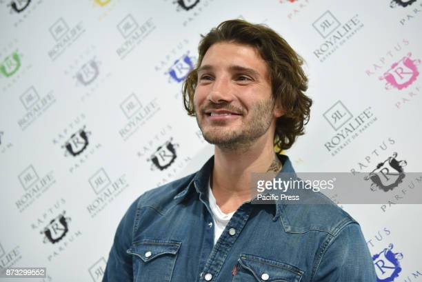 Stefano De Martino dancer of the broadcast 'AC' special guest this morning in the Royalife salon on the occasion of the 21st edition of the Aestetica...