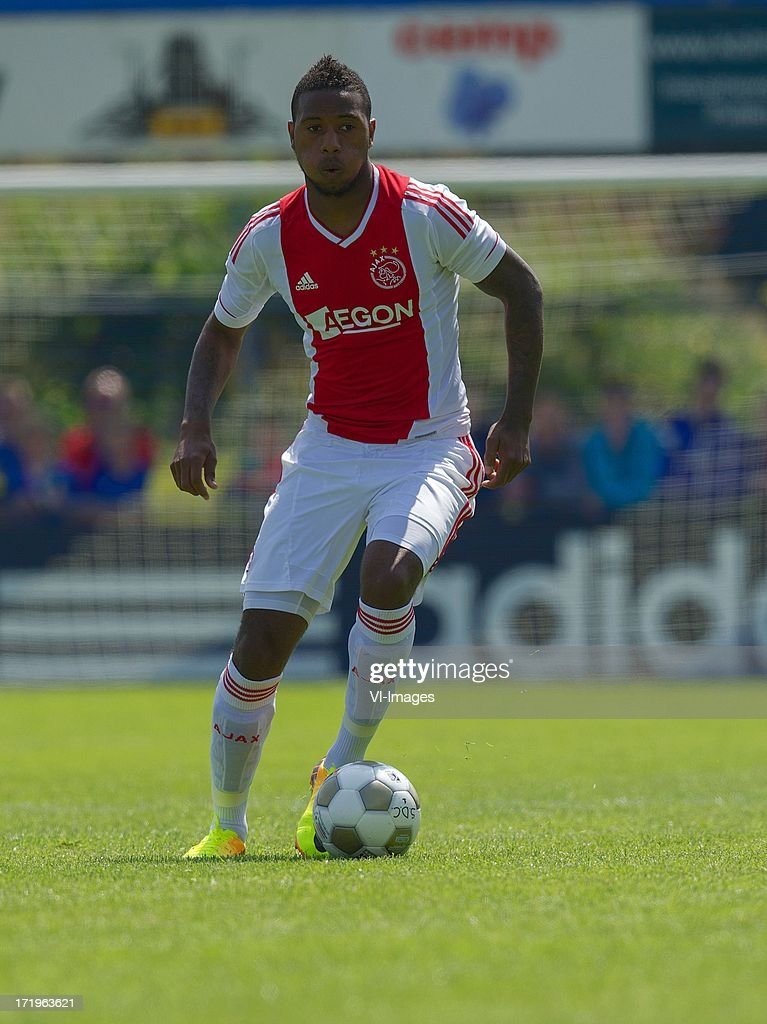 Stefano Denswil of Ajax during the pre season friendly match between SDC Putten and Ajax on June 29, 2013 in Putten, The Netherlands.