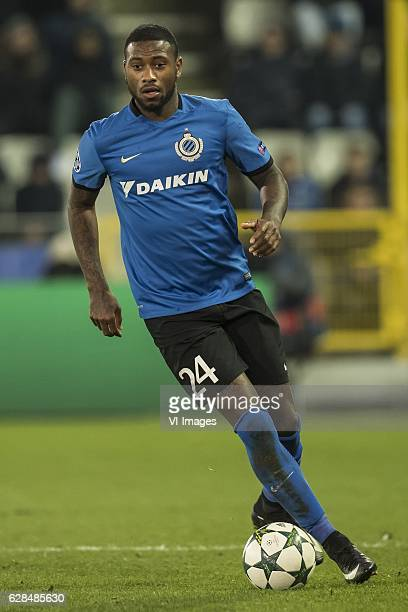 Stefano Denswil of Club Bruggeduring the UEFA Champions League group G match between Club Brugge and FC Kopenhagen on December 07 2016 at the Jan...