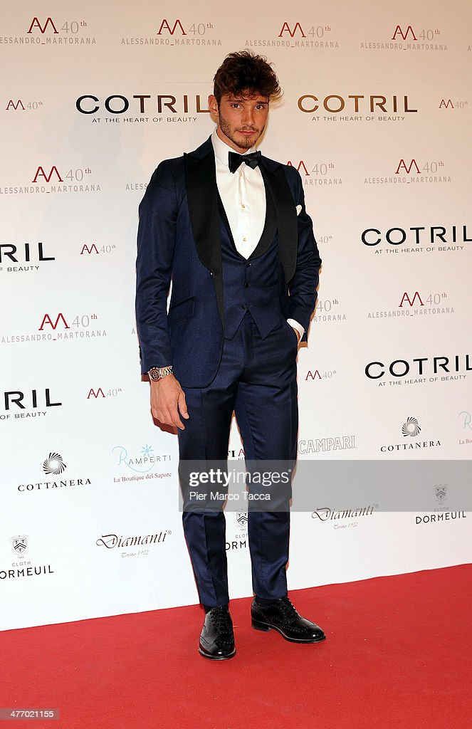 Stefano Di Martino attends the Alessandro Martorana birthday party at Four Seasons Hotel on March 6, 2014 in Milan, Italy.