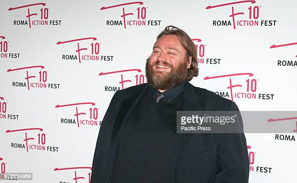 Stefano Fresi attend at the Red Carpet of 'In art Nino' presented at the Roma Fiction Fest 2016