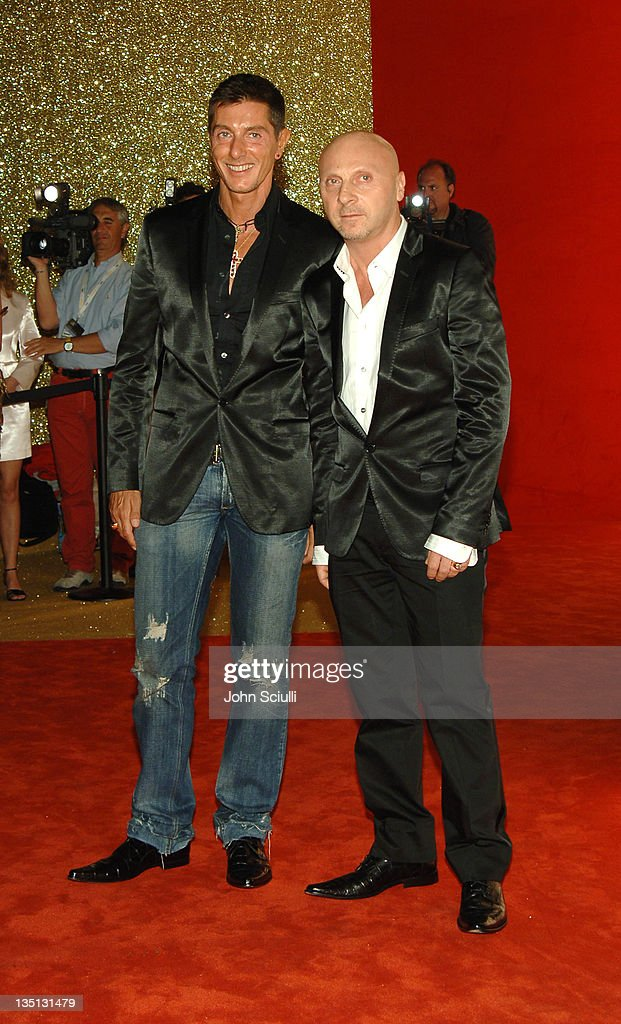 Stefano Gabbana and Domenico Dolce during 2006 Cannes Film Festival - Dolce & Gabbana Party at Hotel Martinez in Cannes, France.