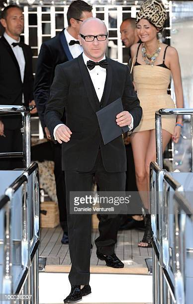 Stefano Gabbana departs for Naomi Campbell's birthday party during the 63rd Annual International Cannes Film Festival on May 22 2010 in Cannes France