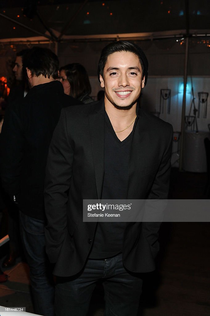 Stefano Langone attends Red Light Management Grammy After Party at Mondrian Los Angeles on February 10, 2013 in West Hollywood, California.