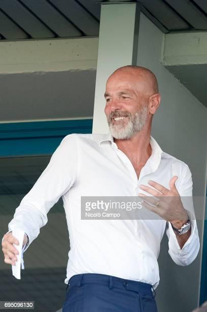 Stefano Pioli head coach of ACF Fiorentina attends the Primavera TIM final between ACF Fiorentina and FC Internazionale FC Internazionale wins 21...