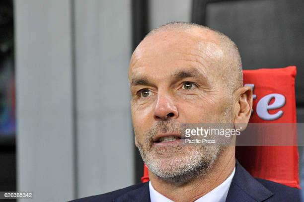 Stefano Pioli head coach of Inter during the football match Inter versus Fiorentina
