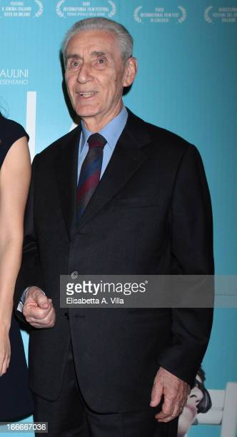 Stefano Rodota attends 'Nina' premiere at Cinema Barberini on April 15 2013 in Rome Italy