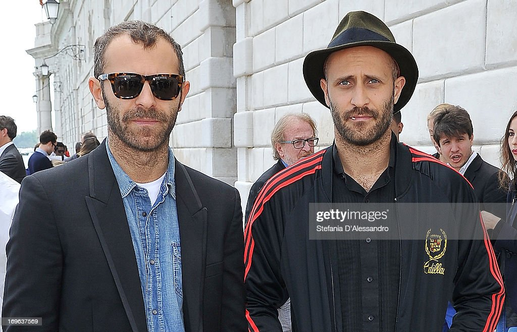 Stefano Rosso and Andrea Rosso attend Prima Materia VIP Preview on May 29, 2013 in Venice, Italy.