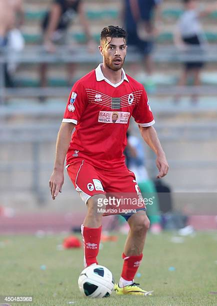 Stefano Sabelli of Bari during the Serie B playoff match between AS Bari and US Latina at Stadio San Nicola on June 8 2014 in Bari Italy