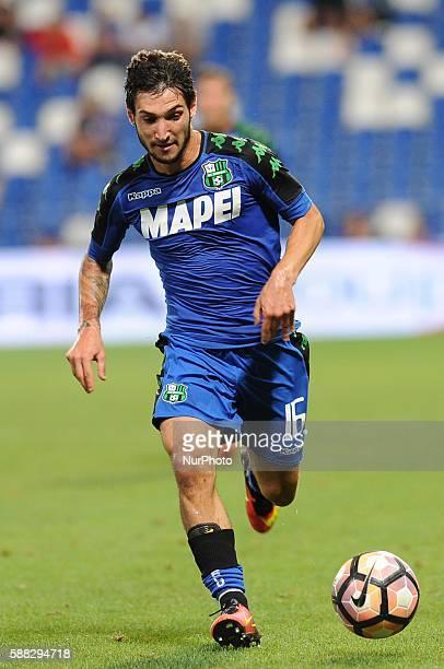 Stefano Sensi during TIM trophy between Sassuolo v Real Club Celta de Vigo in Reggio Emilia on August 10 2016