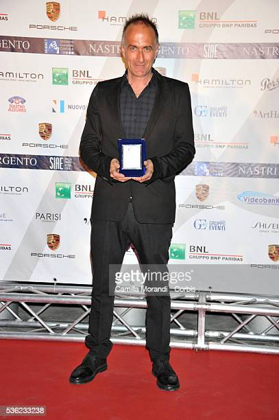 Stefano Sollina attends Nastri D'Argento 2016 Award Nominations on May 31 2016 in Rome Italy