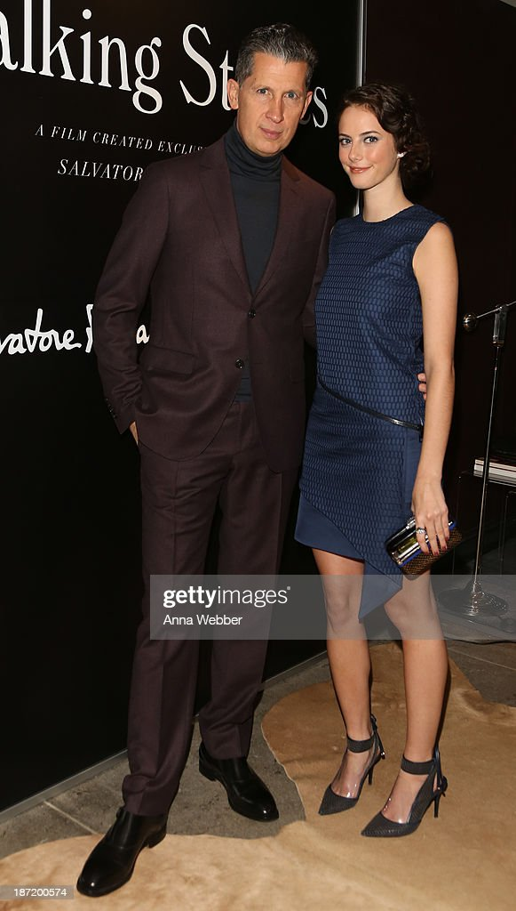 <a gi-track='captionPersonalityLinkClicked' href=/galleries/search?phrase=Stefano+Tonchi&family=editorial&specificpeople=2497117 ng-click='$event.stopPropagation()'>Stefano Tonchi</a> and Actress Kaya Scoledario (wearing Ferragamo Fall/Winter Collection) attend Ferragamo And <a gi-track='captionPersonalityLinkClicked' href=/galleries/search?phrase=Stefano+Tonchi&family=editorial&specificpeople=2497117 ng-click='$event.stopPropagation()'>Stefano Tonchi</a> Present A VIP Screening Of Premier Film Walking Stories on November 6, 2013 in New York City.
