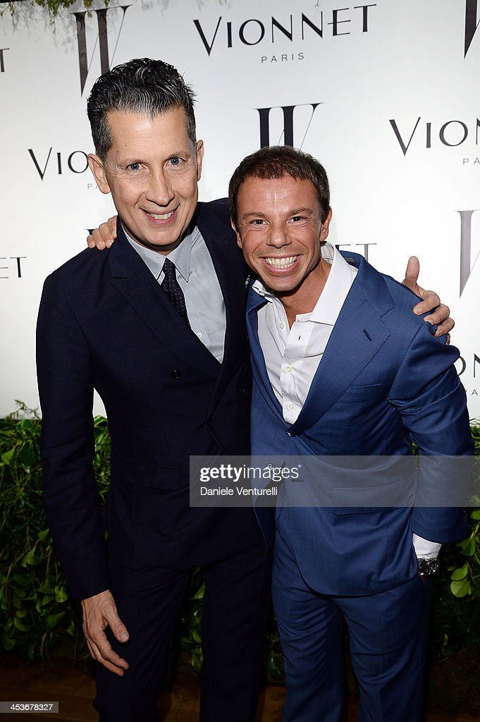 Stefano Tonchi and Nicolo Cardi attends W Magazine and Vionnet celebrate the opening Perez Art Museum Miami during Art Basel Miami Beach 2013 at PAMM...