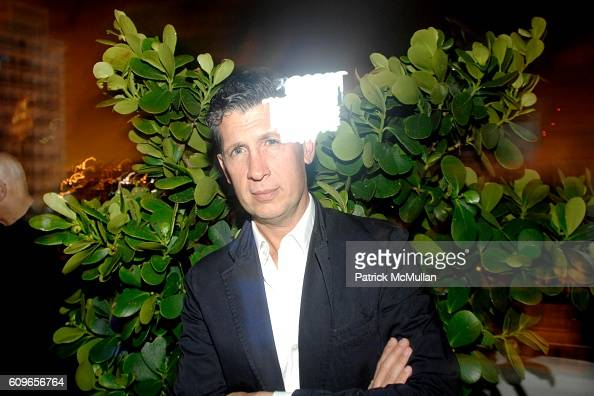 Stefano Tonchi attends ACCOMPANIED LITERARY SOCIETY and Swarovski Celebrate ASSOULINE's THE WORTH OF ART in association with Mutal Art at The Raleigh...