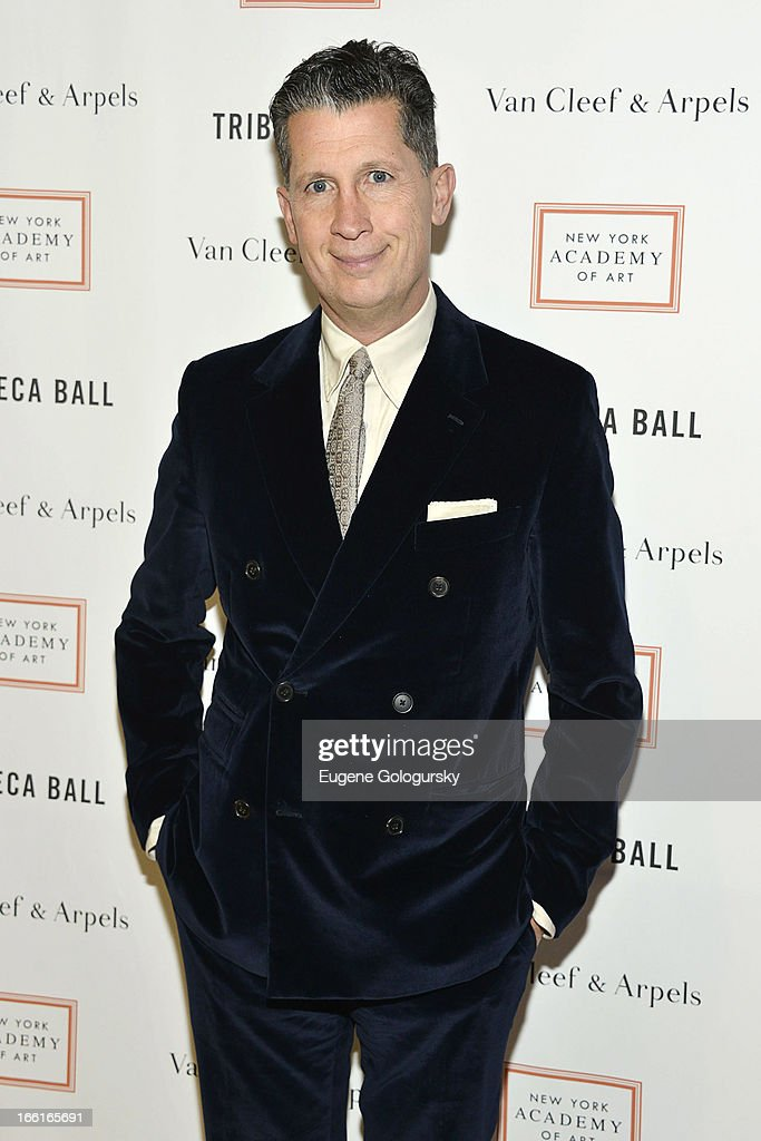<a gi-track='captionPersonalityLinkClicked' href=/galleries/search?phrase=Stefano+Tonchi&family=editorial&specificpeople=2497117 ng-click='$event.stopPropagation()'>Stefano Tonchi</a> attends the 2013 Tribeca Ball at New York Academy of Art on April 8, 2013 in New York City.
