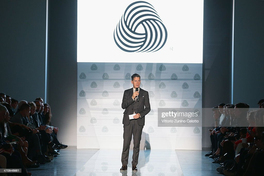 <a gi-track='captionPersonalityLinkClicked' href=/galleries/search?phrase=Stefano+Tonchi&family=editorial&specificpeople=2497117 ng-click='$event.stopPropagation()'>Stefano Tonchi</a> attends the International Woolmark Prize as part of Milan Fashion Week Womenswear Autumn/Winter 2014 on February 21, 2014 in Milan, Italy.