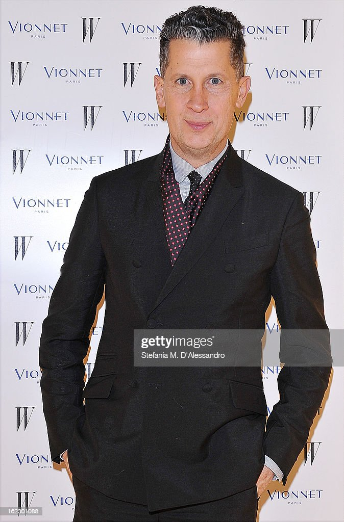 <a gi-track='captionPersonalityLinkClicked' href=/galleries/search?phrase=Stefano+Tonchi&family=editorial&specificpeople=2497117 ng-click='$event.stopPropagation()'>Stefano Tonchi</a> attends W And Vionnet Hosts The Thayaht Exhibition on February 21, 2013 in Milan, Italy.
