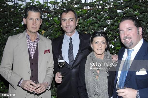 Stefano Tonchi Roberto Manzoni Nicoletta Canesi and Giovanni Potenza attend LA TRIENNALE DI MILANO and ARTLIVINGNY Celebrate The Announcement of...