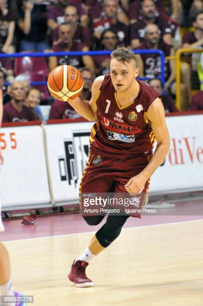 Stefano Tonut of Umana competes in action during the match game 2 of play off final series of LBA Legabasket of Serie A1 between ReyerUmana Venezia...