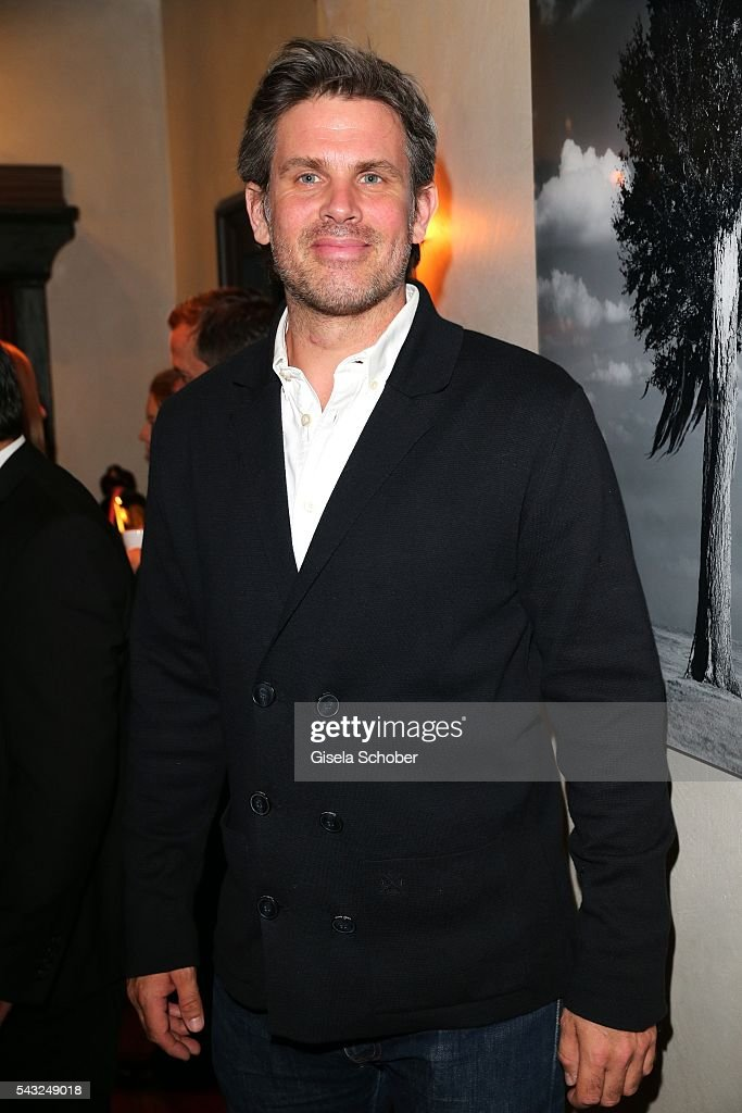 Steffen Groth during the Peugeot BVC Casting Night during the Munich Film Festival 2016 at Kaeferschaenke on June 26, 2016 in Munich, Germany.