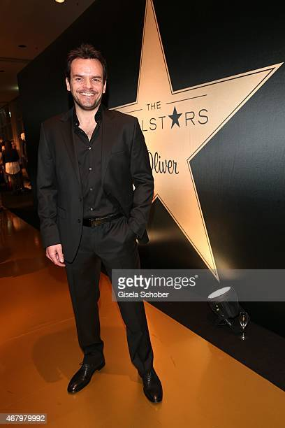 Steffen Henssler attends the SOliver Realstars Gala in Frankfurt 2015 on March 28 2015 in Frankfurt am Main Germany