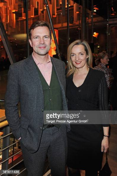 Steffen Seibert and his wife Sophia Seibert attends the ARTE Reception during the 63rd Berlinale International Film Festival on February 12 2013 in...