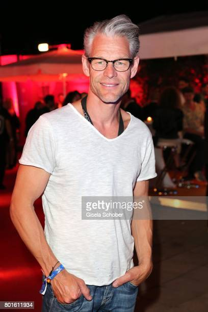 MUNICH GERMANY JUNE 26 Steffen Wink during the Movie meets Media Party during the Munich Film Festival on June 26 2017 in Munich Germany