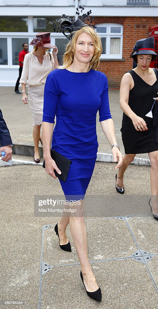 <a gi-track='captionPersonalityLinkClicked' href=/galleries/search?phrase=Steffi+Graf&family=editorial&specificpeople=204579 ng-click='$event.stopPropagation()'>Steffi Graf</a> attends Day 1 of Royal Ascot at Ascot Racecourse on June 17, 2014 in Ascot, England.