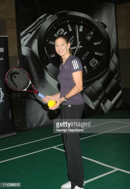 Steffi Graf attends Longines Center Court for Kids at Grand Central Terminal on September 10 2009 in New York City