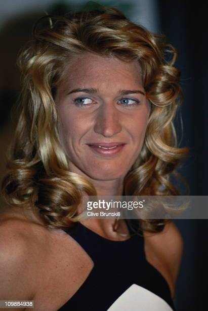 Steffi Graf of Germany at the French Open Tennis Championship banquet on 6th June 1994 at the Stade Roland Garros Stadium in Paris France