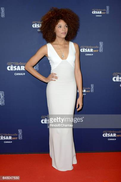 Stefi Celma arrives at the Cesar Film Awards Ceremony at Salle Pleyel on February 24 2017 in Paris France
