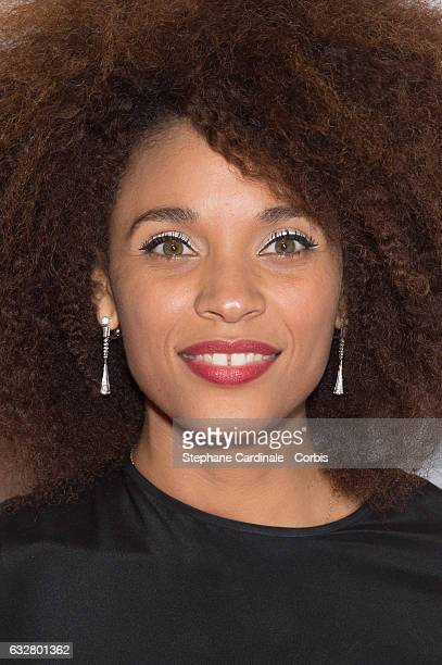 Stefi Celma attends the Sidaction Gala Dinner 2017 as part of Paris Fashion Week on January 26 2017 in Paris France